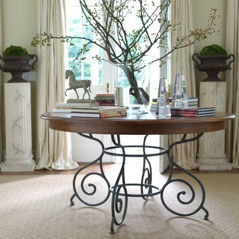 ethanallen - maison by ethan allen brittany table 56 | ethan, Esstisch ideennn