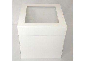 CakeDecorating #Shop Luxury Large #Satin White Deep #Cake #Box ...