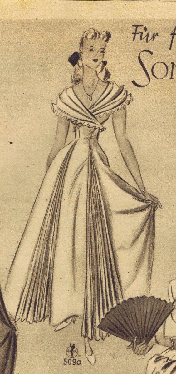 Vintage Gown Pattern