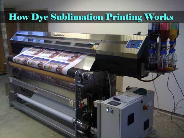 How Dye Sublimation Printing Works Vinyl And Cloth