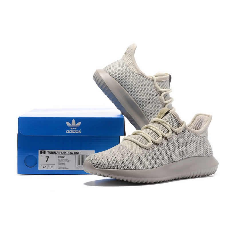 2017 UA Adidas Small Yeezy Tubular Shadow Knit Boost Beige The law of  supply and demand