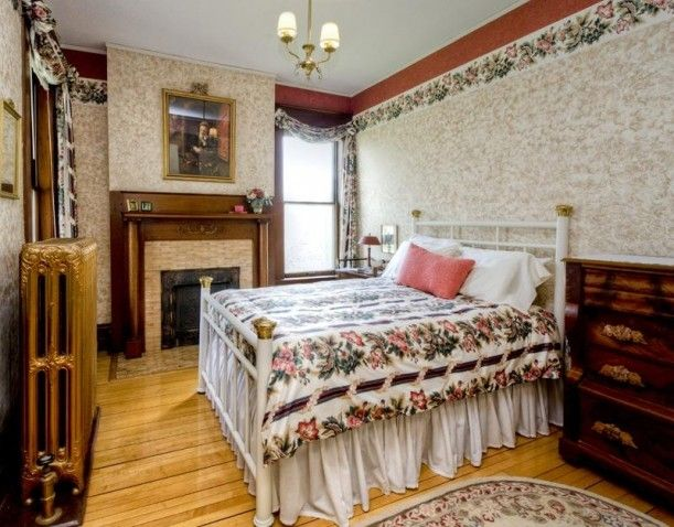 A Colorful Queen Anne Victorian For Sale In Iowa. Old Victorian HousesVictorian  BedroomVictorian ...