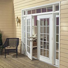 shop at lowes for garage doors and more lowes offers french doors security screen doors replacement doors as well as doggie doors and cat flaps - Patio Doors French