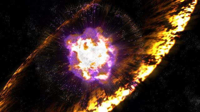 Supernovae showered Earth with radioactive debris | Geology Page