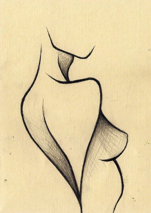 conversion drawings Color nude girl