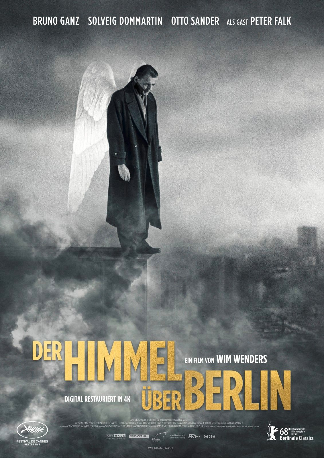 Pin Von Randolph Betten Auf Kinocharts Deutschland In 2020 Der Himmel Uber Berlin Berlin Himmel