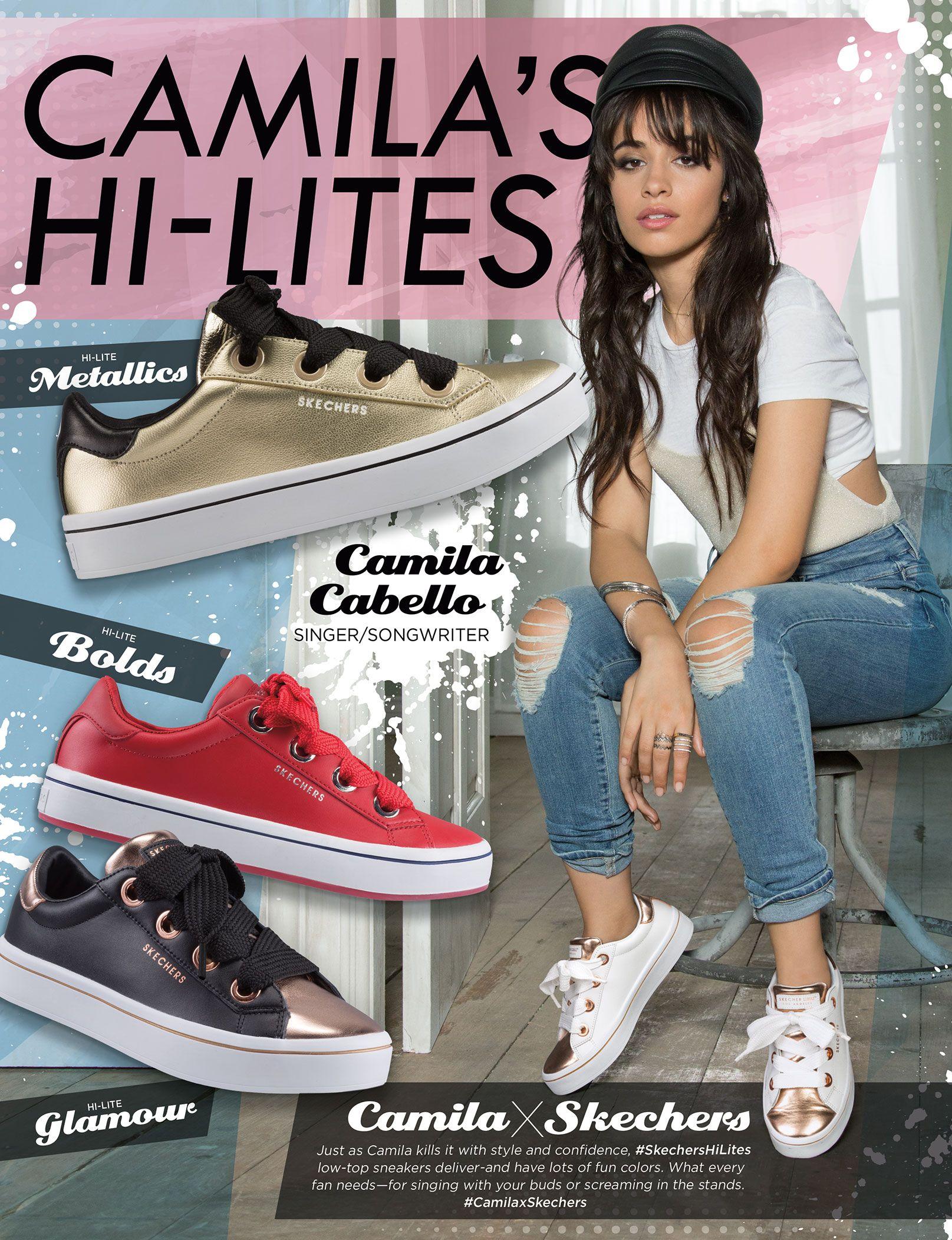 Camila Cabello for Skechers | C & a