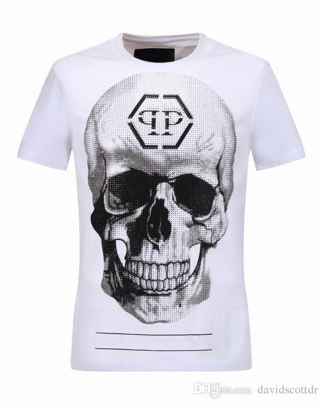 d865fd282c Pin by 胡辉华 on pp skull men t shirt 2017 new styles luxury brand ...