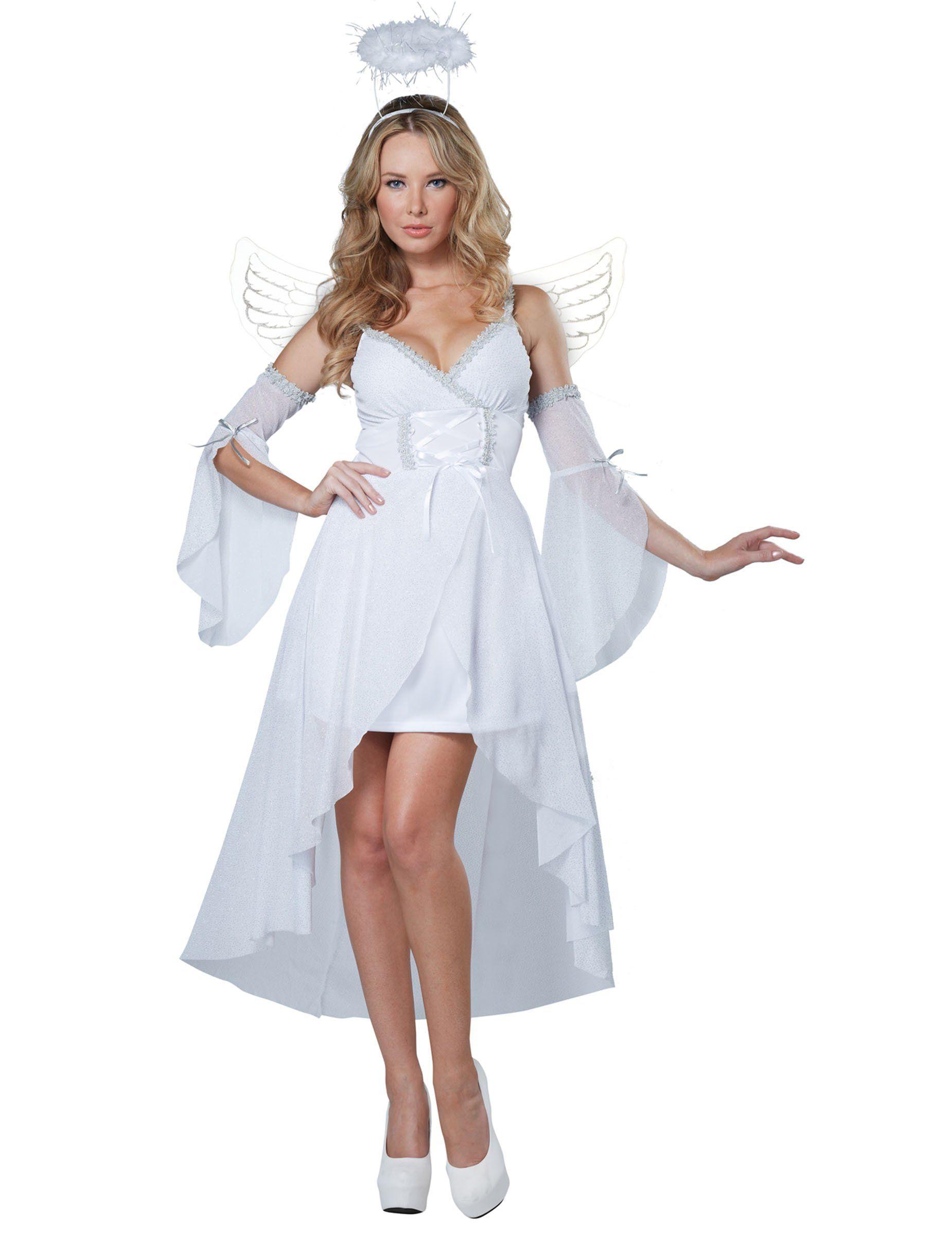 332c3859c Disfraz Ángel del Cielo para mujer