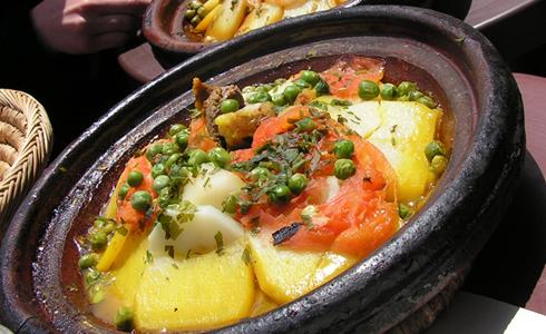 Aardappel-groentetajine - Powered by @ultimaterecipe