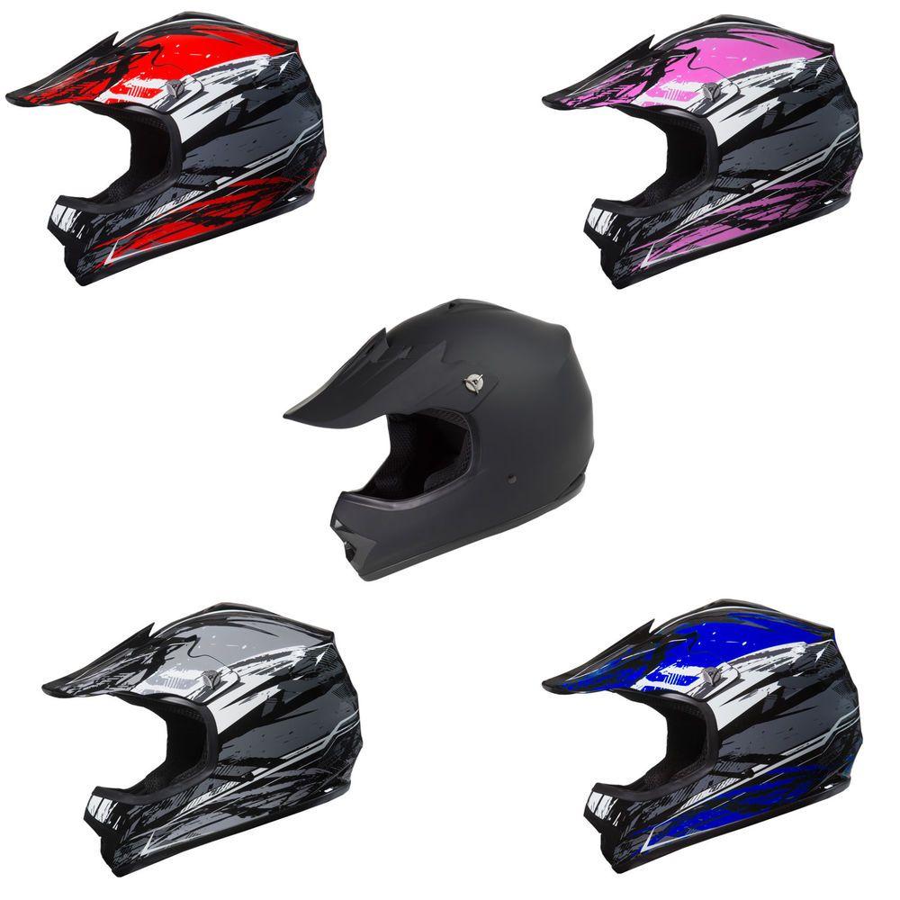 GMAX MX46 Solid Helmet Motocross Offroad ATV