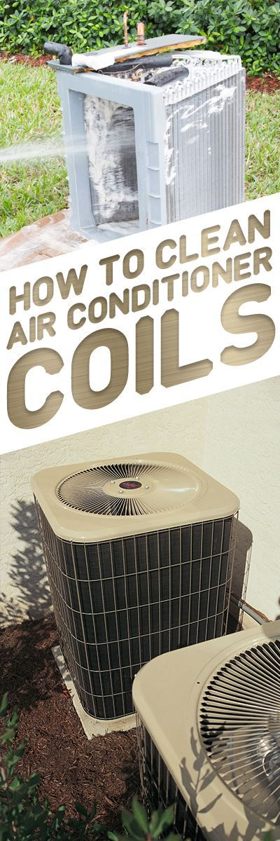 How to Clean AC Coils Air conditioner maintenance, Clean