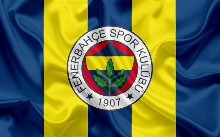 Download Wallpapers Fenerbahce Football Club Istanbul Turkey Football Turkish Football Club Besthqwallpapers Com Futbol Takim Fotograflari Duvar