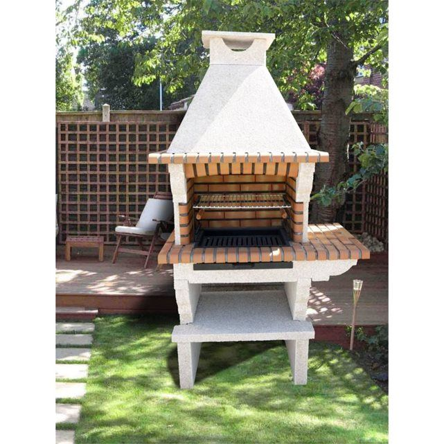 barbecue ext rieur pierre et brique barbecue en pierre. Black Bedroom Furniture Sets. Home Design Ideas