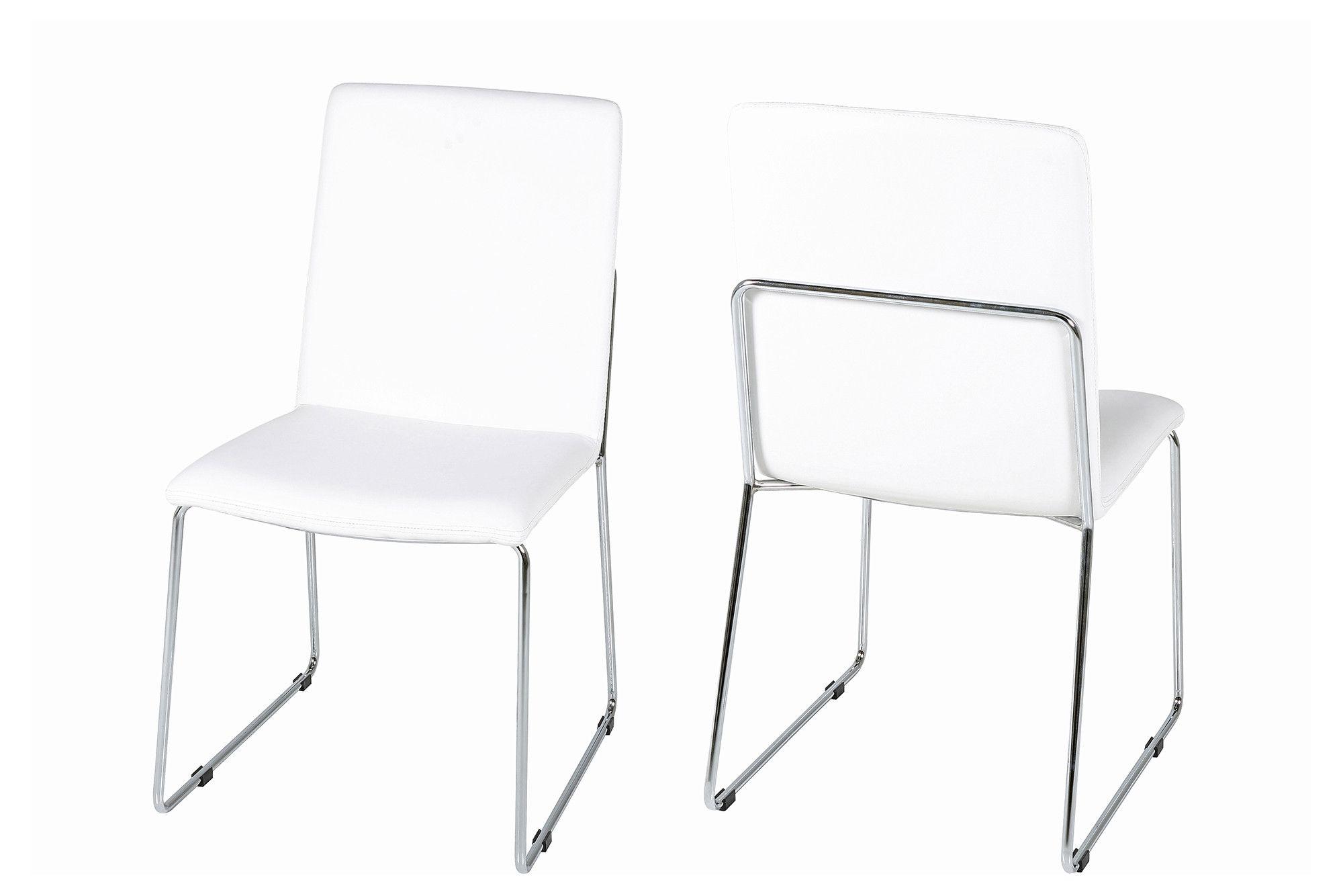 Stuhl 4er Set Kunstleder Weiss Woody 169 00060 Silber Chrom Modern Jetzt Bestellen Unter Https Moebel Ladendirekt De Kue Esszimmerstuhle Stuhle Stuhl Design