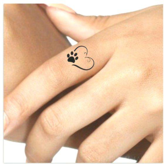 d77e6e7fb507f Tattoo 4 Heart Paw Finger Fake Tattoos Waterproof thin lasting fake #finger  #heart #lasting #tattoo #tattoos #waterproof