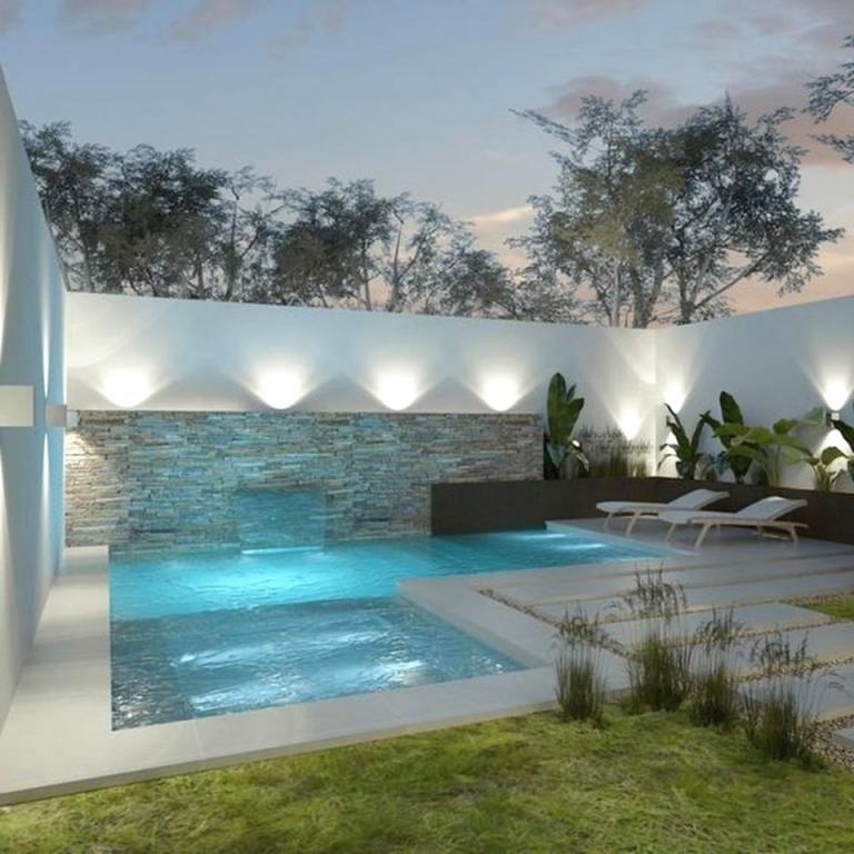 16+ Backyard pool lighting ideas ideas