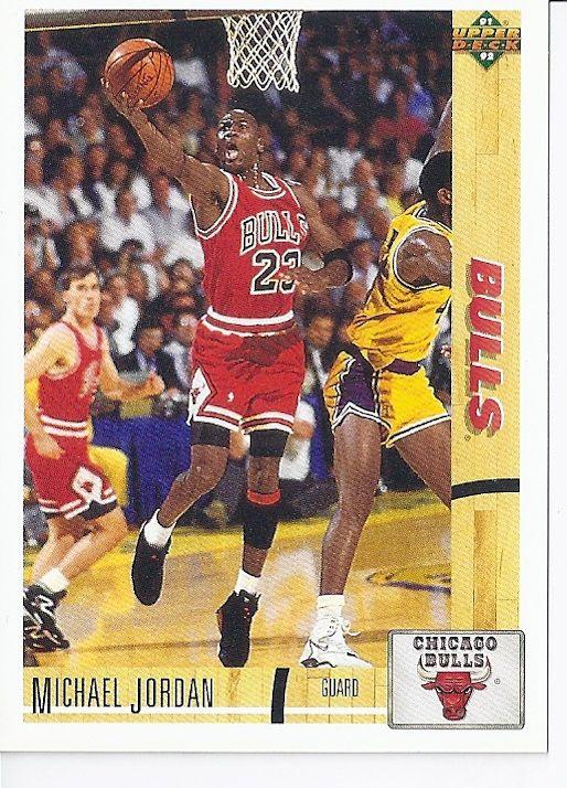 Michael Jordan 1991/92 Upper Deck (#44) | BasketBall (Sport Card's) | Pinterest | Michael jordan ...