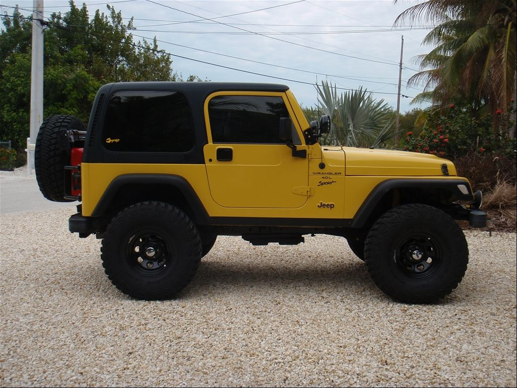 Yellow 2001 Jeep Tj Siiick Yellow Jeep Jeep Tj Yellow Jeep