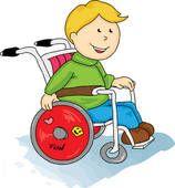 Handicap Walker Clip Art | Physically Handicapped ...