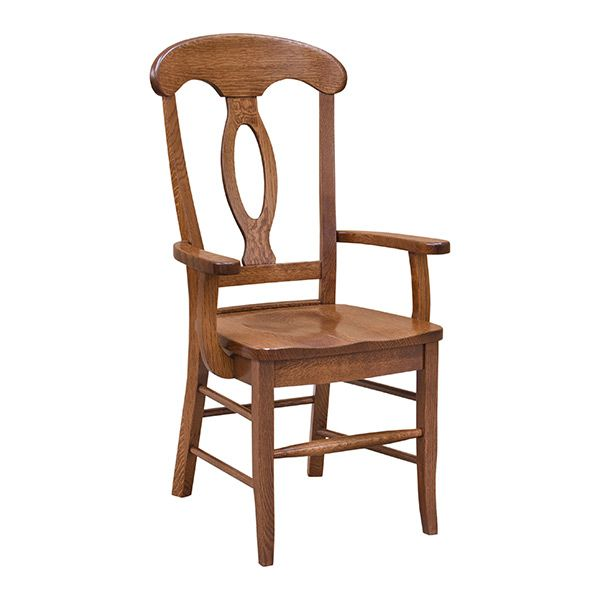 Napoleon Arm Chair Wooden Dining ChairsDining Room