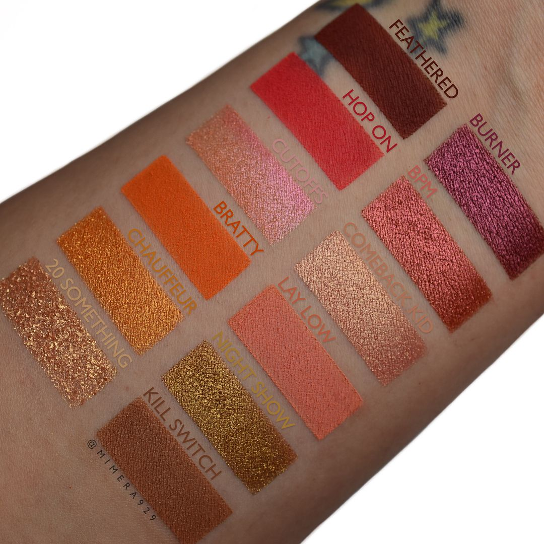 Give It To Me Straight Eye Shadow Palette  by Colourpop #11