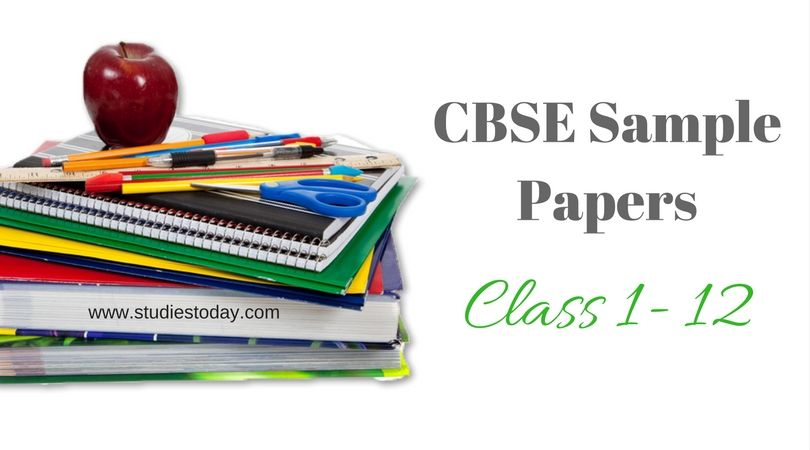 Get New updated CBSE Sample Papers of New Semesters here on Studies - new circular letter format pdf