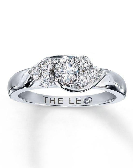 The Leo Diamond Diamond Engagement Ring 3 4 Ct Tw Round Cut 14k