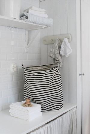 Laundry bag stripes - House Doctor