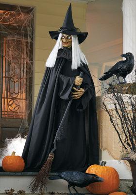 Hagatha The Witch Scene Halloween Witch Decorations Halloween Witch Halloween Scene