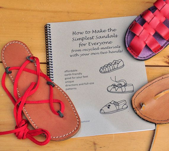 PDF How to Make the Simplest Sandals for all by simpleshoemaking, $20.00