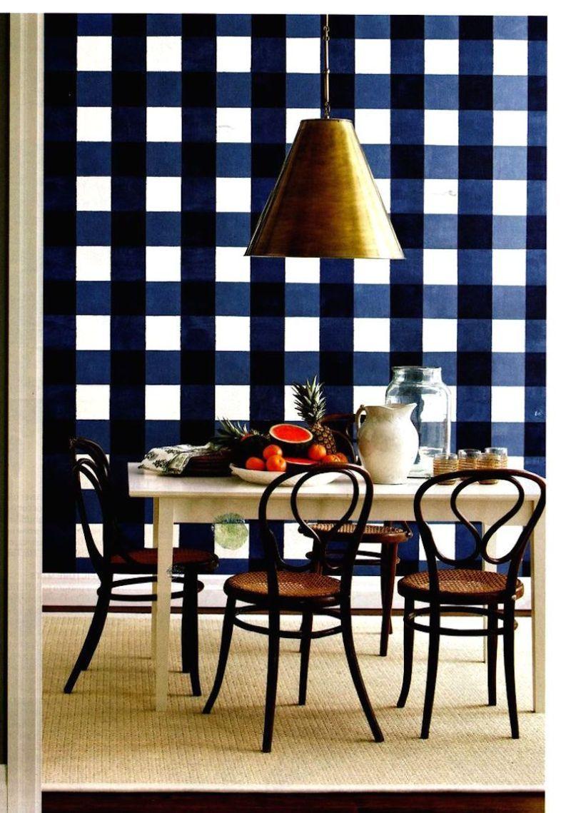 11 Blue Checkered Things Retro home decor, Plaid