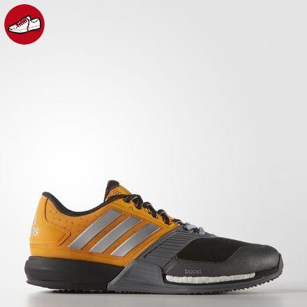 quality design 4a4d8 5ceb1 adidas Herren Crazytrain Boost Tennisschuhe, Naranja  Plateado  Gris  (Eqtnar  Plamat