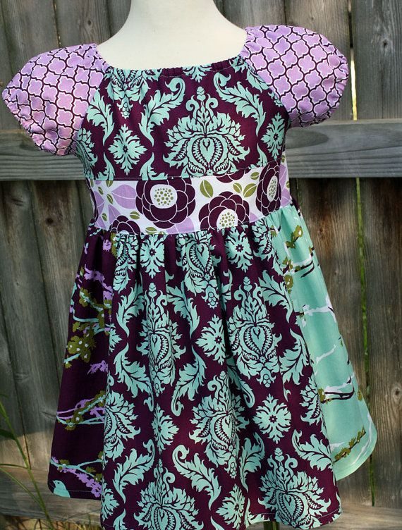 Adicyn Peasant Top 2 4 6 by fluffygirlboutique on Etsy, $36.99