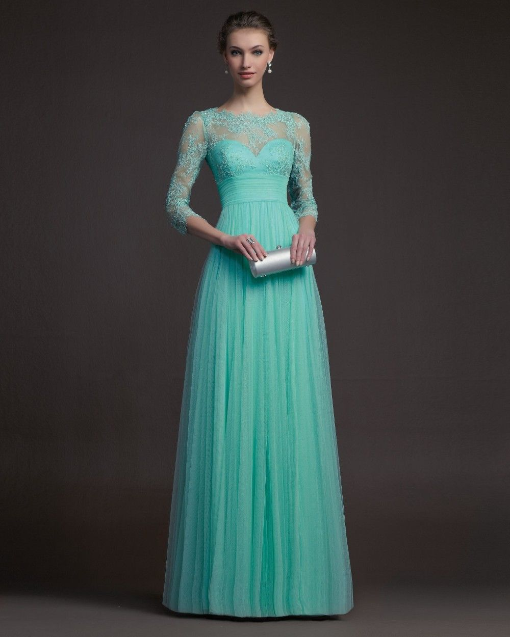 35 Beautiful Evening Dresses For Women | Turquoise, Robe and Designers