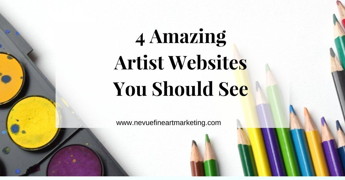 4 amazing artist websites you should see in 2020 with