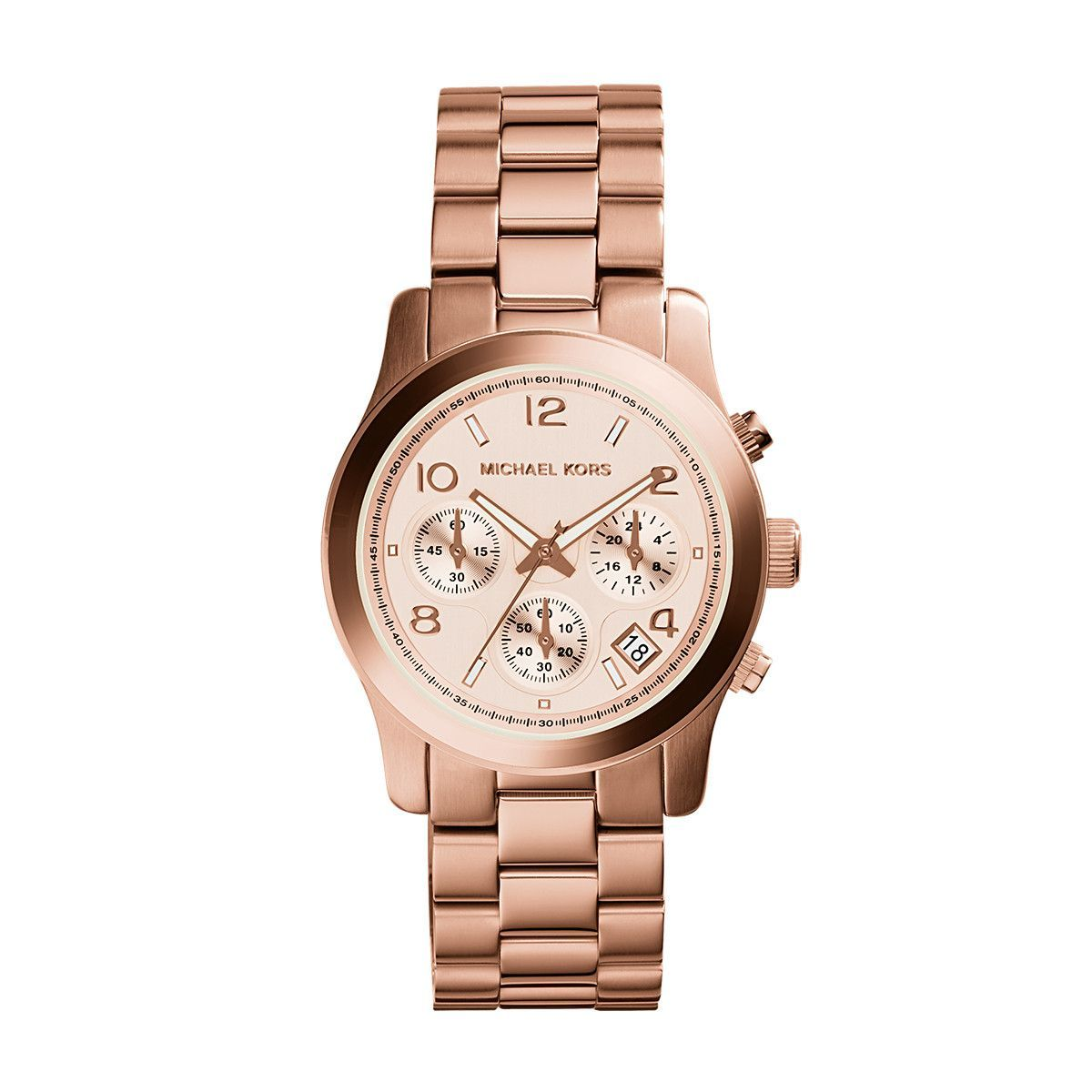 Runway Rose Gold Plated Stainless Steel Watch