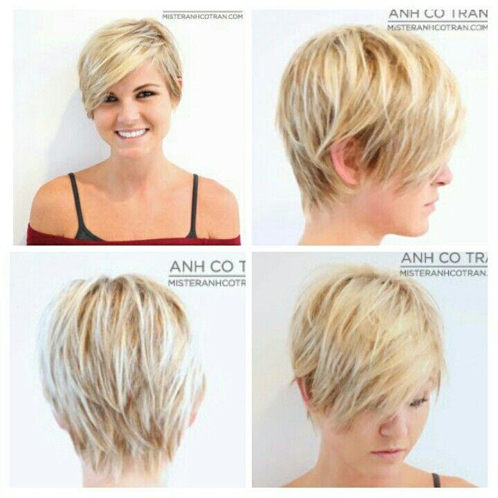 Pixie cut with long bangs | Hair Ideas | Pinterest | Hair ...