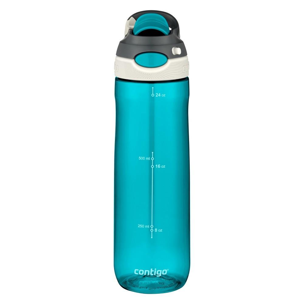 Contigo damen autospout 24oz chug water bottle blue