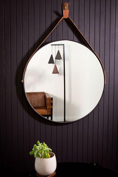 Dark Horse Large Round Mirror