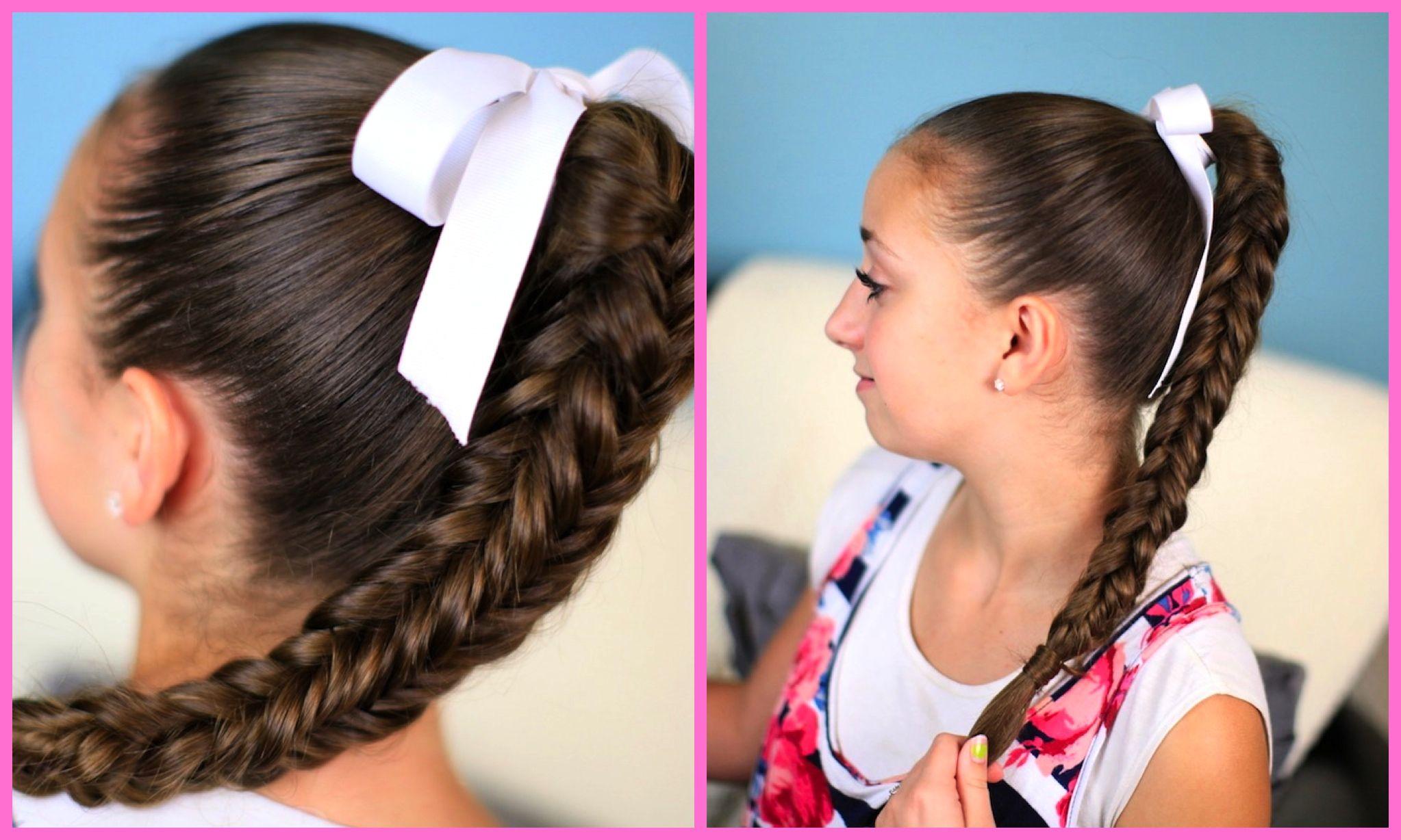 Box sided fishtail braid hairstyles ideas pinterest