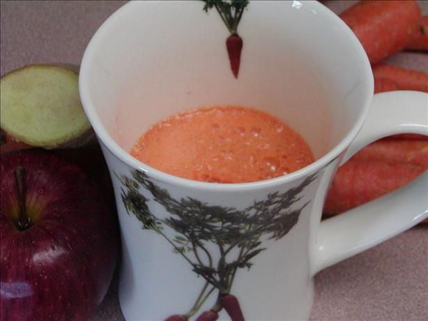 Apple, Carrot and Ginger Juice | Recipe | Carrot, ginger ...