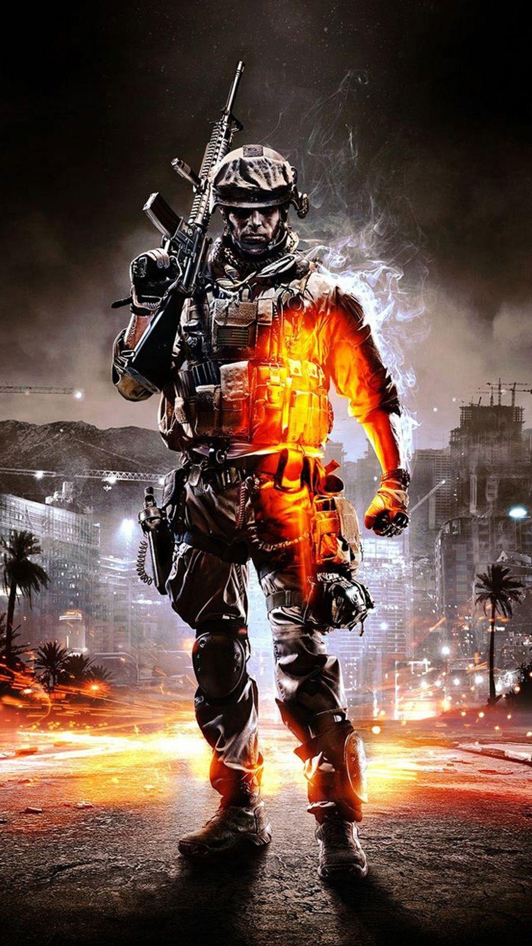 Battlefield 3 Iphone Wallpaper Papel de parede do