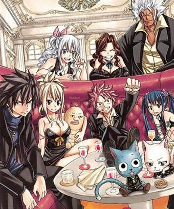 What is Lucy holding?!?! And has gray's hair grown !?!?