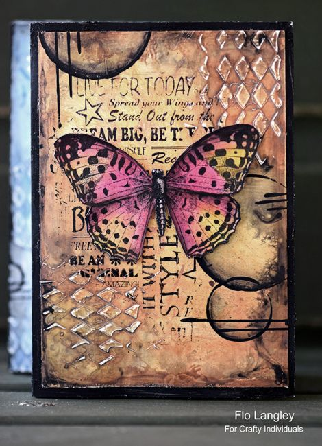 Mixed Media Concertina Book – florence and freddie #artjournalmixedmediainspiration
