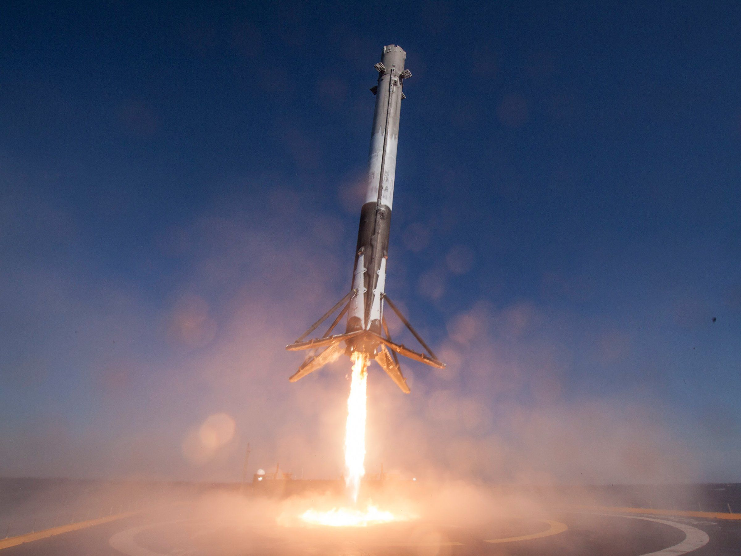 Image result for SpaceX Latest Launch Marks Its First Step Toward Beaming Internet Down From Space