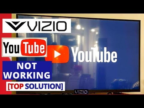 How to Fix Youtube App Not Working on VIZIO Smart TV