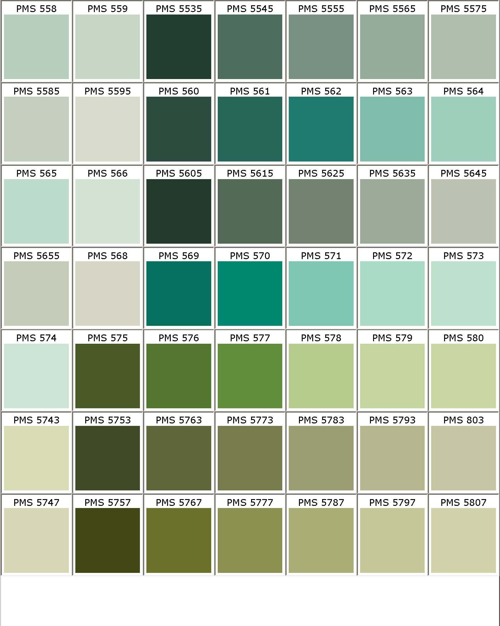 Color chart colours pinterest colour chart for Shades of all colors