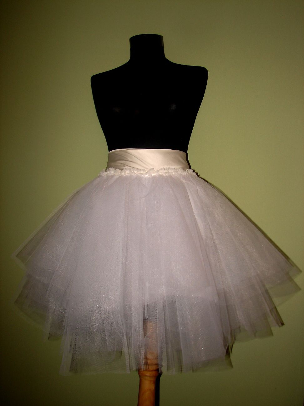 Dbd White Tulle Skirt Toddler Dress Patterns Crochet Toddler Dress Tutu Skirt Baby [ 1296 x 972 Pixel ]