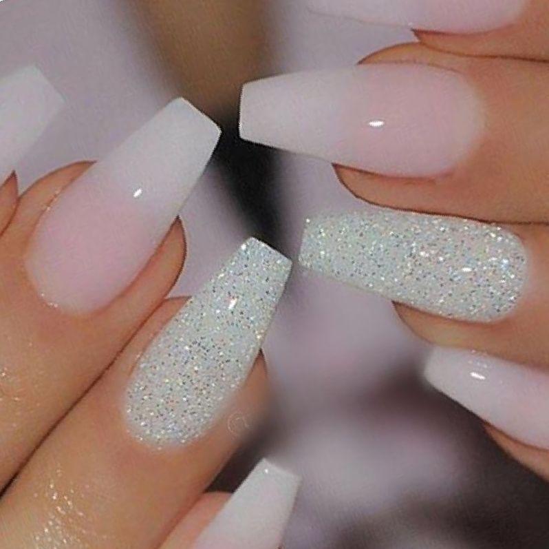 Cute Coffin Acrylic Nail Designs Google Search Ombre Acrylic Nails Ombre Nails Glitter Ombre Nail Designs